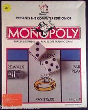 Monopoly C64 Commodore 64 - CIB - Complete Virgin Lesiure Genius