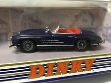 DINKY DY033/A 1962 MERCEDES BENZ 300SL ROADSTER 1994 BLUE MADE IN CHINA