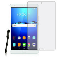 2x HD Klar Display Schutzfolie f. Huawei Mediapad M3 8.4 Tablet Folie +Pen