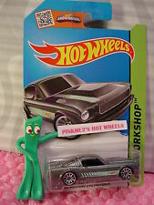 Case Q 2015 i Hot Wheels '65 MUSTANG 2+2 FASTBACK #242☆Gray;Green; 10sp☆Then