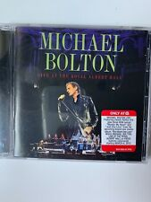 Michael Bolton Live at the Royal Albert Hall Target Exclusive NEW Sealed CD