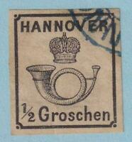 GERMAN STATES - HANOVER 18  USED - NO FAULTS EXTRA FINE!