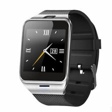 Luxus Smart Watch GV18 SILBER Bluetooth Uhr iOS Android Samsung Sony SIM HTC