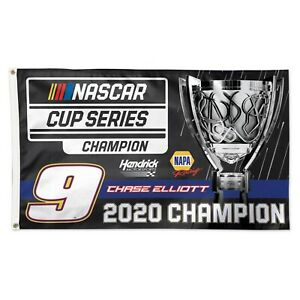 Chase Elliott #9 NAPA Championship 2020 3' x 5' Deluxe Flag Free Ship Instock