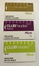 Atlantis Club Paradise Lot 3 Casino Slot Players Cards different levels Reno Nv
