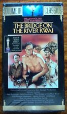 The Bridge On The River Kwai, Vhs, New Original Factory Sealed