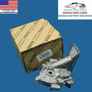 GENUINE OEM TOYOTA SCION xD COROLLA MATRIX 1.8L 4CYL ENGINE OIL PUMP 15100-37030