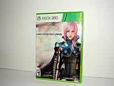 Lightning Returns: Final Fantasy Xiii (Microsoft Xbox 360, 2014) * Brand New *