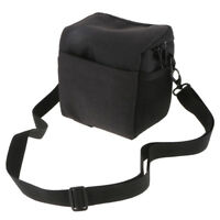 DSLR Camera Shoulder Bag Organizer Carrying Case for Canon Nikon Sony Black