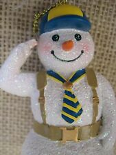 Cub Scouts of America Snowman Boy Scout Christmas Ornament w Backpack & Necktie