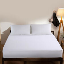 """Waterproof Mattress Protector Bed Topper Cover Queen Full King Pad 8""""-18"""" Depth"""