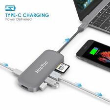 HooToo Shuttle USB-C Hub Type C Charging Port HDMI Output Card Reader 3 USB 3.0