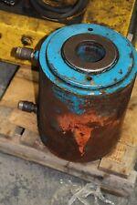 """100 Ton Hydraulic Center Hole Hydraulic Cylinder Richard Dudgeon 6"""" Stroke"""