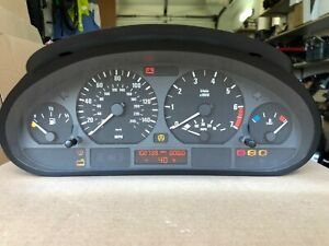 BMW E46 316i 318i 320i 323i 325i 328i M/T Instrument Cluster Speedometer