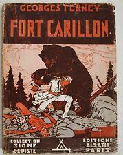 Fort Carillon G FERNEY  & P JOUBERT Alsatia Signe de Piste 1945