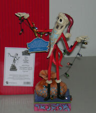 DISNEY SANTA JACK NIGHTMARE BEFORE CHRISTMAS JIM SHORE 4057954 NIB RETAIL $70