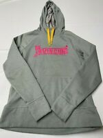 Womens NIKE Gray Therma Fit Livestrong Pullover Hoodie Sz L