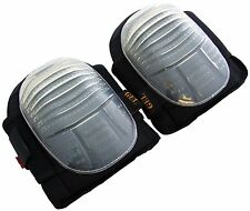 Pro Heavy Duty Gel Knee Pads Work Kneepad Knee Protection Large Cup Twin Straps