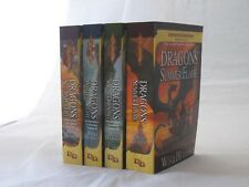 Dragonlance Chronicles by Margaret Weis & Tracy Hickman (Books 1-4 in Series PB)