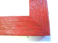 """1.5"""" Wide Rustic Red Barnwood Picture Frame"""