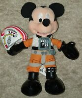 Star Wars Disney Mickey Mouse as X-Wing Pilot Plush Toy