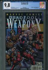 Deadpool 58 CGC 9.8 Agent of Weapon X 2 Uncanny X-Force Cable X-Men New Mutants