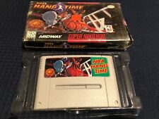 NBA Hang Time (Super Nintendo Entertainment System, 1996) snes PAL