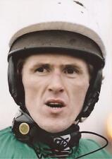 HORSE RACING: SIR A.P. TONY McCOY SIGNED 6x4 ACTION PHOTO+COA