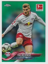 2018-19 Topps Chrome Bundesliga Timo Werner Green Refractor /99