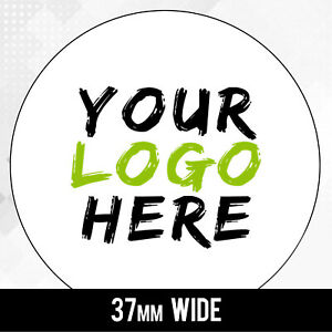 LOGO Printed Round Stickers - Custom 3.7cm labels - 37mm labels Personalised