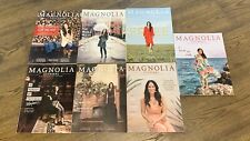 Lot of 7 Magnolia Journal Magazines Issues 9 - 15 Joanna Gaines Fixer Upper