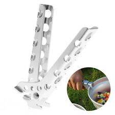 Camping Pot Gripper Folder Anti-hot Anti-scraping Cookware Pot Clip Arm Holder