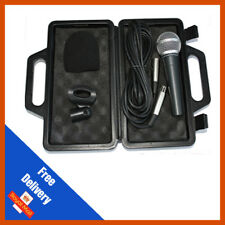 Pulse PM580 Handheld Vocal Dynamic Microphone with Cable, Clip & Case DJ Karaoke
