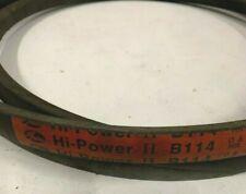 Gates B114 Hi-Power II V-Belt
