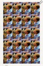 BORIS BECKER 20-Stamp Sheet (WIMBLEDON TENNIS Championships Player)