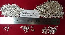 10g plata granulado nuggets 99,99 Zilver srebro plata gümüş stříbrná ezüst sølv