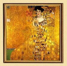 GUSTAV KLIMT GOLDENE ADELE BLOCH-BAUER I um 1907 auf LEINWAND 49 im Goldrahmen