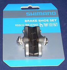 SHIMANO BR-6700 R55C3 ULTEGRA Freno Scarpa Set Y8G698080