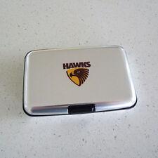 AFL Hawthorn Hawks Metal Business Card Holder