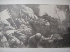 Triumph of Death by Legros from 1900 book to frame? Sepia Army War