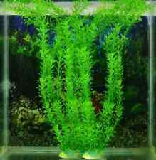 TOP!! Artificial Plastic Water Plants For Fish Tank Aquarium Decoration 30cm Mo