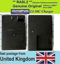 Original Olympus Charger Li-50C,Li-50B,U 1020 1030 1010 6000 1200 TG 820 810 805