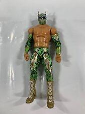 WWE Sin Cara Elite 25 Mattel Figure Green Attire Rare Wrestling Luchador NXT Z6