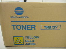 Genuine Konica Minolta Toner Cartridge TN613Y / A0TM250 Yellow