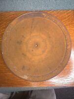 Vintage Victor Upright Victrola Model VV-240 Metal Turntable Platter for Parts