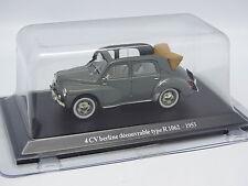 Eligor Presse 1/43 - Renault 4CV Découvrable 1062 1953