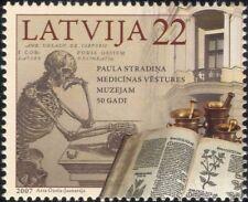 Letonia 2007 Libros médica// Museo de Medicina Esqueleto///salud/bienestar 1 V (n35589)