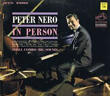 PETER NERO IN PERSON RCA LSP-2710 Vinyl LP 33 Smooth Jazz Album VG+ Stereo 1963