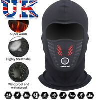 Balaclava Outdoor Windproof Motorcycle Under Helmet Thermal Ski Fleece Face Mask