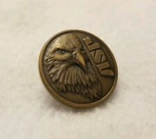 Vintage Collectible JSV Eagle Lapel PIn Police Military Equipment Supplier Bronz